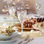 tavola natale oro
