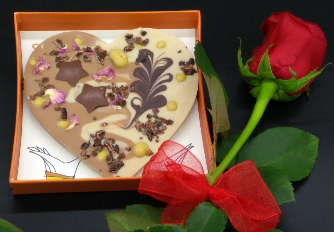 cuore di cioccolata Zotter