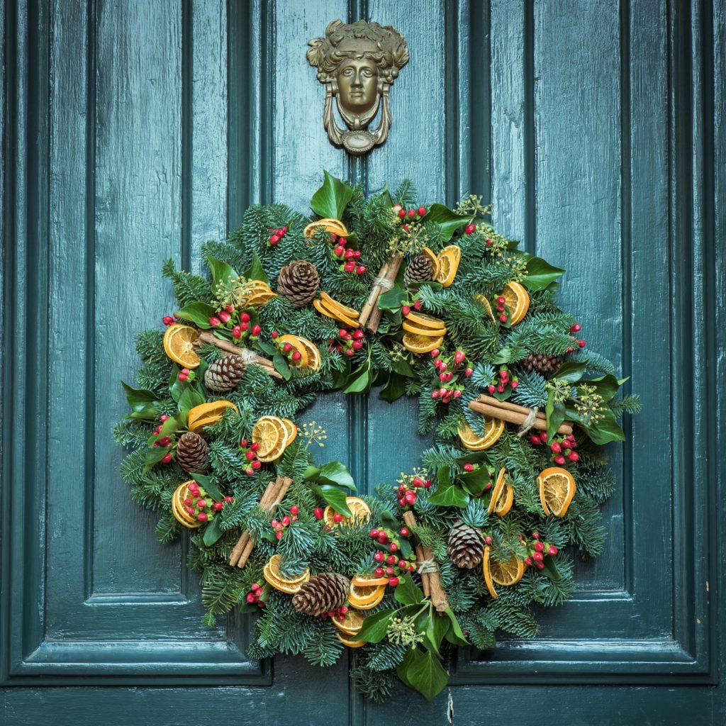 Addobbi Natalizi Con Frutta decorazioni natalizie diy